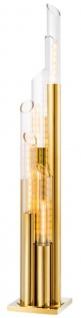 Casa Padrino Luxus Designer Stehleuchte 30 x 30 x H. 175 cm - Limited Edition