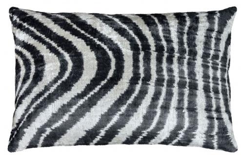 Casa Padrino Luxus Kissen Schwarz / Weiß 60 x 40 cm - Wohnzimmer Deko Accessoires - Vorschau 3