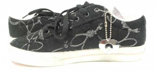 Osiris Skateboard Black/Embroidered Schuhe Serve V Girls Black/Embroidered Skateboard f5c8e9