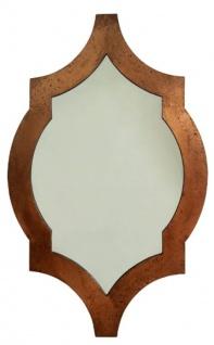 Casa Padrino Wandspiegel Kupferfarben 78 x H. 126 cm - Art Deco Möbel