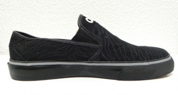 Osiris Skateboard Schuhe Slip On Black