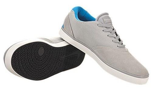 Nike Skateboard Schuhe Eric Koston 2 LR Blue Wolf Grey / Photo Blue LR / White - Sneakers Beliebte Schuhe 6ba43c