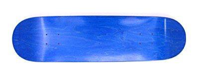 Moose Skateboard Blank Deck stained blue