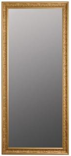 Casa Padrino Barock Spiegel Gold 72 x H. 162 cm - Handgefertigter Barock Wandspiegel