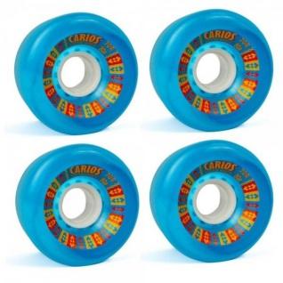Koston Longboard Wheel Set Carlos Wheels 70mm/80A (4 Rollen) - Rollen Set Wheels