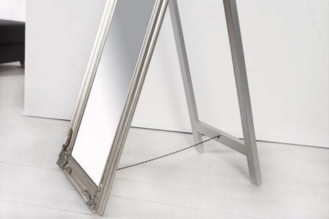 Casa Padrino Luxus Standspiegel 160 cm - Designer Spiegel - Silber - Vorschau 4