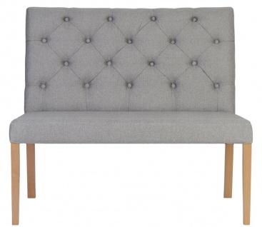 Casa Padrino Luxus Chesterfield Sitzbank mit Rückenlehne 107 x 66 x H. 96 cm - Verschiedene Farben - Chesterfield Möbel
