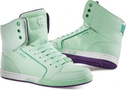 Etnies Skateboard Damen Schuhe Woozy Green Etnies Shoes