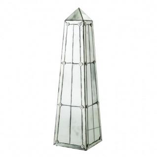 Riesige Casa Padrino Luxus Obelisk Skulptur Antik Stil Spiegelglas - Hotel Einrichtung - Luxus Dekoration - Vorschau 1