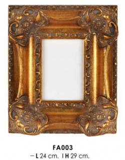 Casa Padrino Barock Bilderrahmen Gold Antik Stil 29 x 24 cm - Bilder Rahmen Foto Rahmen Jugendstil Antik Stil Mod AX24
