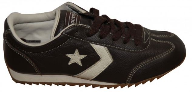 Converse Skateboard Schuhe Leather Trainer Brown Sneakers Shoes