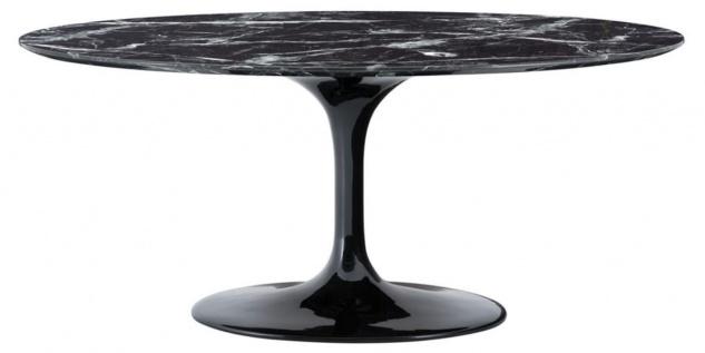 Casa Padrino Luxus Esstisch Oval 170 x 110 x H. 75 cm - Luxus Esszimmermöbel - Vorschau 3