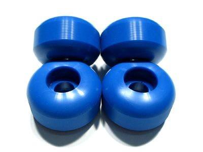 Skateboard Blank Rollen Set - 54mm Blank Wheels Blau - Wheel Set