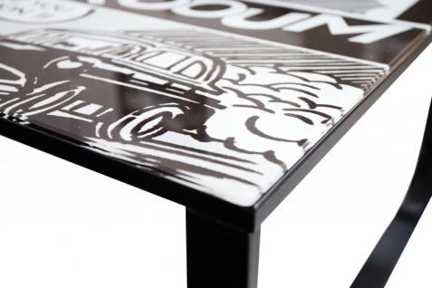 Casa Padrino Designer Beistelltisch Mehrfarbig B. 105 cm H. 33 cm - Comic Design - Vorschau 2