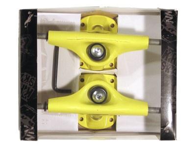 Krown Skateboard Achsen Set 5.0 gelb (2 Achsen)