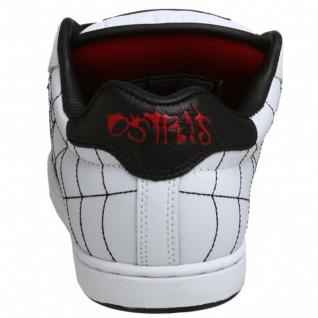 Osiris Skateboard Schuhe Troma II Kids White/Black/Red/Webs - Vorschau 4