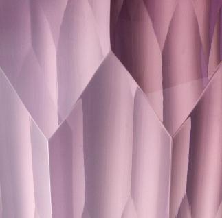 Casa Padrino Luxus Deko Glas Vase Lila Ø 12 x H. 14 cm - Luxus Qualität - Vorschau 4