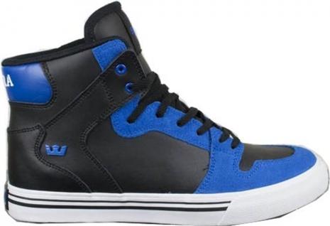 SUPRA Skateboard Schuhe Skytop Kids Schwarz/Blau - Vorschau