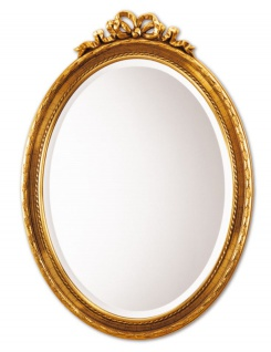 Casa Padrino Barockstil Wandspiegel Gold 50 x H. 71 cm - Barock Spiegel