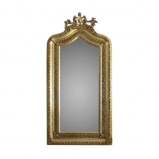 Casa Padrino Luxus Wandspiegel 110 x H. 210 cm - Barock Spiegel