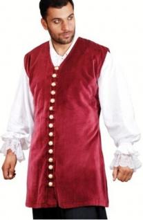 Captain Benjamin Piraten Weste - Red