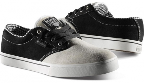 Etnies Skateboard Schuhe Makia Jameson 2 Grey / Black - Sneaker Skate Shoes