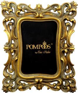 Pompöös by Casa Padrino Barock Bilderrahmen Gold von Harald Glööckler 23.5 x 19 cm - Antik Stil Foto Rahmen