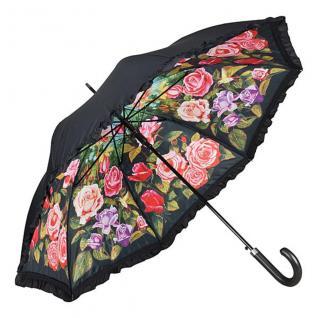 Designer Regenschirm Motivschirm mit einem Motiv von Bruce Hamann - Eleganter Stockschirm - Luxus Design - Automatikschirm