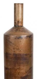 Casa Padrino Luxus Deko Aluminium Vase / Blumenvase Bronze Ø 20 x H. 76 cm - Wohnzimmer Dekoration - Vorschau 2