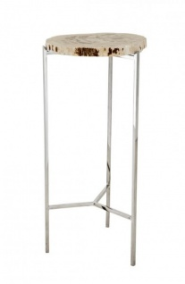 Casa Padrino Luxus Art Deco Designer Beistelltisch 3er Set - Luxus Beistelltisch Set - Vorschau 2
