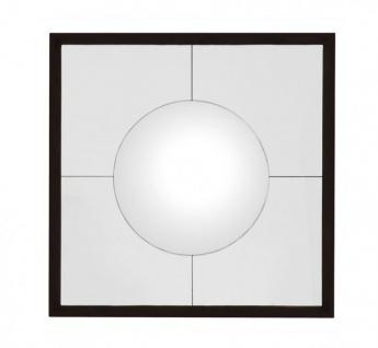 Casa Padrino Designer Luxus Wandspiegel Antik Bronze 101 x H 101 cm - Luxus Hotel Spiegel