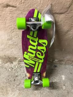 Mindless Oldschool Skateboard Komplettboard Purple / Green - 1B Ware mit Lagerspuren