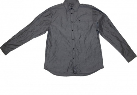 Fallen Skateboard Hemd Grey Shirt