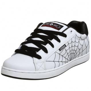 Osiris Skateboard Schuhe Troma II Kids White/Black/Red/Webs - Vorschau 2