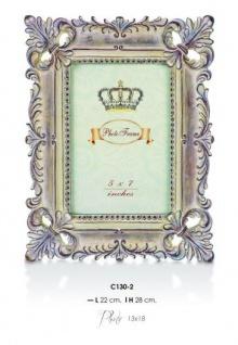 Casa Padrino Barock Bilderrahmen Antik Stil 28 x 22 cm - Bilder Rahmen Foto Rahmen Jugendstil Antik Stil Mod AX22