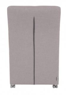 Casa Padrino Designer Esszimmer Stuhl / Sessel ModEF 319 Grau - Hoteleinrichtung - Rollbar - Vorschau 4
