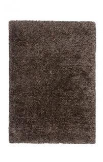 Casa Padrino Designer Teppich Unicolor Tufted Soft Polyester Braun - Möbel Teppich
