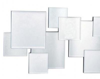 Casa Padrino Designer Spiegel / Wandspiegel Silber 100 x H. 45 cm - Luxus Möbel - Vorschau 2
