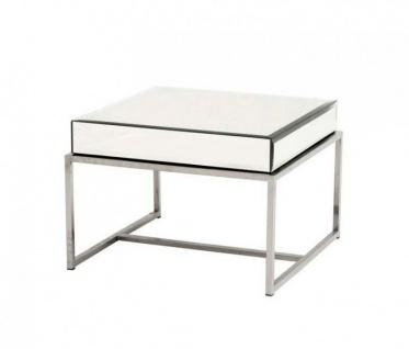 Casa Padrino Luxus Art Deco Designer Beistelltisch 65 x 65 x H. 45 cm - Luxus Qualität