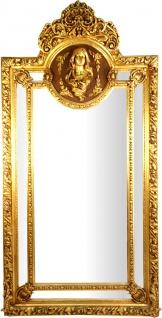 Herrschaftlicher Casa Padrino Barock Spiegel Gold Maria Motiv - Barock Möbel Antik Stil