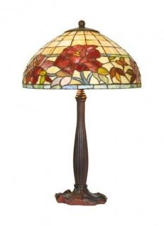 Tiffany Hockerleuchte Durchmesser 40 cm, Höhe 64 cm Leuchte Lampe - Vorschau