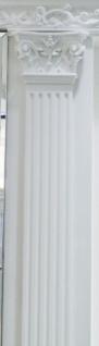 Casa Padrino Barock Zierelement Säule Weiß 13, 6 x 1, 9 x H. 200 cm - Barock Wohnzimmer Deko - Vorschau 3