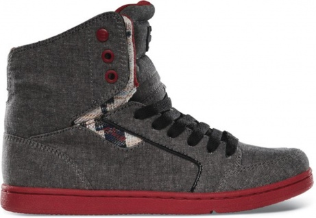 Etnies Skateboard Damen Schuhe Woozy Black Wash Etnies Shoes
