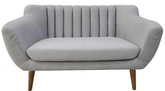 Casa Padrino Luxus Wohnzimmer Sofa 140 x 77 x H. 83 cm - Verschiedene Farben - Wohnzimmermöbel