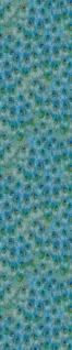 Harald Glööckler Designer Barock Vliestapete 58504 - Pfauenfedern - Blau / Grün / Türkis