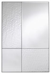 Casa Padrino Luxus Wandspiegel Schwarz 80 x 2 x H. 120 cm - Hotel & Restaurant Spiegel - Luxus Kollektion