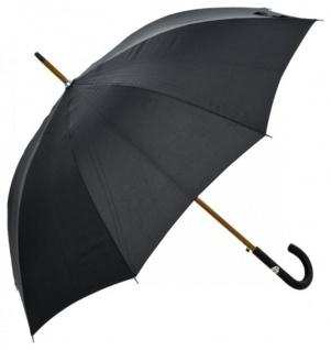Klassischer Jean Paul Gaultier Designer Luxus Regenschirm mit Lederoptik Griff - Made in Paris - Vorschau 1
