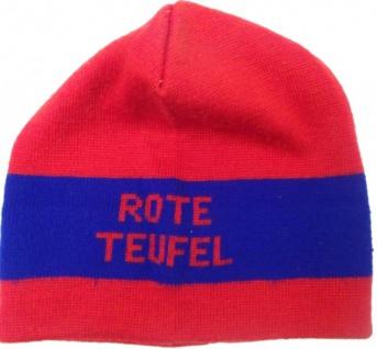 Rote Teufel Skateabord Mütze Beanie Red/Blue