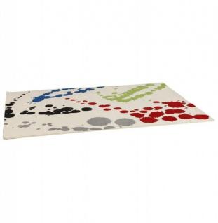 Casa Padrino Designer Teppich 160 x 230 cm Bunte Muster - Läufer - Vorschau 2