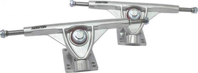 KOSTON Longboard Skateboard Achsen Set 180mm Silver (2 Achsen) - Profi Truck Set - Trucks